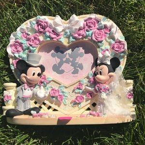 Disney wedding frame